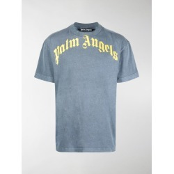 Palm Angels logo-print crew-neck T-shirt found on Bargain Bro UK from MODES GLOBAL