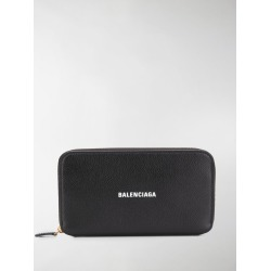 Balenciaga logo-print continental wallet found on Bargain Bro UK from MODES GLOBAL