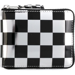 Comme Des Garçons Wallet checked wallet - Metallic found on MODAPINS from FarFetch.com - US for USD $296.00