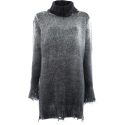 Avant Toi distressed overdyed turtleneck sweater - Grey found on MODAPINS from FarFetch.com- UK for USD $650.90