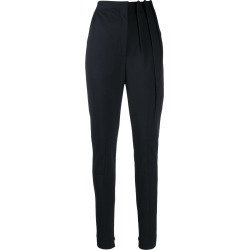 Ji Oh high waisted tapered trousers found on MODAPINS from Eraldo for USD $260.10