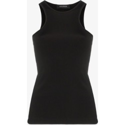 Goldsign Womens Black Ribbed Tank Top found on MODAPINS from Browns Fashion for USD $191.17