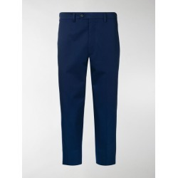 Prada cropped tailored trousers found on Bargain Bro India from stefania mode for $840.00