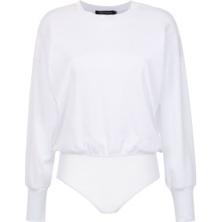 Andrea Marques plain bodysuit - White found on MODAPINS from FarFetch.com- UK for USD $358.71