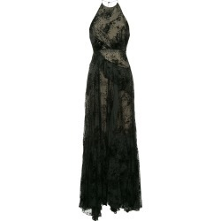 Alex Perry halterneck long dress - Black found on MODAPINS from FarFetch.com - US for USD $1541.00