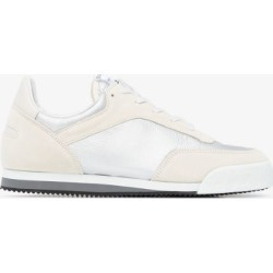 Comme Des Garçons Shirt Mens X Spalwart White Pitch Sneakers found on Bargain Bro UK from Browns Fashion