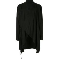 Julius wrap style shirt - Black