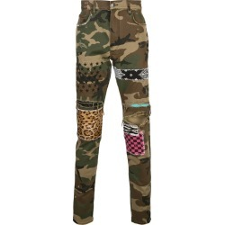 Amiri patched slim jeans - Multicolour found on MODAPINS from FarFetch.com - US for USD $1290.00
