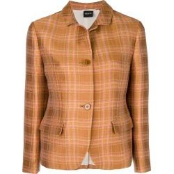 Aspesi plaid shirt jacket - Brown found on MODAPINS from FarFetch.com - US for USD $504.00