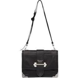 dd8ccc9f8755 Prada Cahier shoulder bag - Black found on MODAPINS from FarFetch.com- UK  for