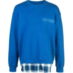 Adaptation oversized logo sweatshirt - Blue found on MODAPINS from FarFetch.com- UK for USD $521.73
