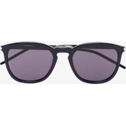 Saint Laurent Eyewear Womens Black Acetate Round Sunglasses found on Bargain Bro UK from Browns Fashion