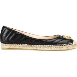 Gucci Marmont GG leather espadrilles - Black found on Bargain Bro UK from FarFetch.com- UK