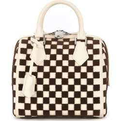 1bb7a13acdab Louis Vuitton Vintage Speedy Cube PM tote - White found on MODAPINS from  FarFetch.com