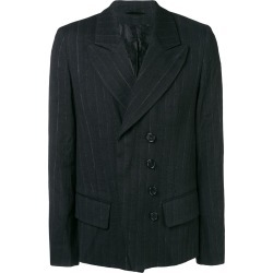 Ann Demeulemeester pinstripe fitted blazer - Black found on MODAPINS from FarFetch.com - US for USD $1003.00