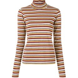 Antonio Marras stripe metallic turtleneck sweater - Red found on MODAPINS from FarFetch.com - US for USD $149.00