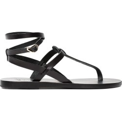 Ancient Greek Sandals Black Estia Leather Sandals found on MODAPINS from FarFetch.com - US for USD $80.00