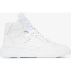 Givenchy Womens White High Top Wing Basketball Sneakers found on Bargain Bro UK from Browns Fashion