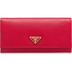 Prada logo plaque wallet - Red found on Bargain Bro UK from FarFetch.com- UK