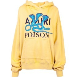 Amiri logo patch hoodie - Yellow found on MODAPINS from FarFetch.com- UK for USD $1311.77