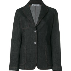 Barena tailored denim jacket - Black found on MODAPINS from FARFETCH.COM Australia for USD $415.17