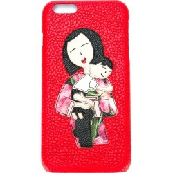 Dolce & Gabbana Family patch iPhone 6 Plus case - Red