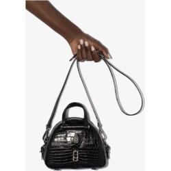 Jimmy Choo Womens Black Varenne Mini Croc Embossed Top Handle Bag found on Bargain Bro UK from Browns Fashion
