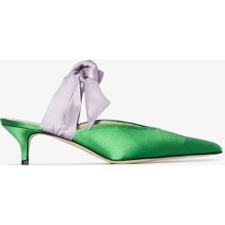 Gia Couture Green Bandana Girl 55 pumps found on Bargain Bro UK from Browns Fashion