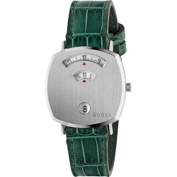 Gucci Grip 35mm watch - Green found on Bargain Bro UK from FarFetch.com- UK
