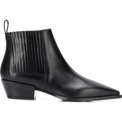 Aeyde pointed toe ankle boots - Black found on MODAPINS from FARFETCH.COM Australia for USD $257.17
