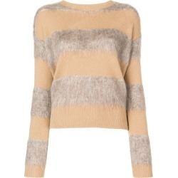 Ballantyne knit mix sweater - Brown found on MODAPINS from FarFetch.com - US for USD $207.00
