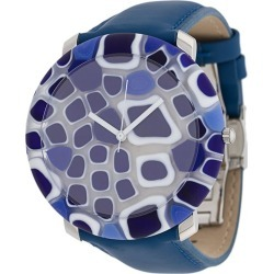 Yunik Big Round Navy Square 44mm - Blue found on Bargain Bro UK from FarFetch.com- UK