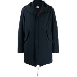 CP Company Lens hooded parka coat - Blue found on Bargain Bro UK from FarFetch.com- UK