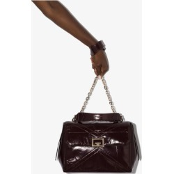 Givenchy Womens Purple Id Medium Leather Shoulder Bag found on Bargain Bro UK from Browns Fashion