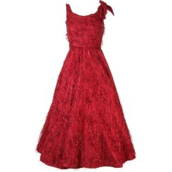 Bambah Violeta Midi gown - Red found on MODAPINS from FarFetch.com- UK for USD $3417.62