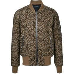 Amiri leopard print bomber jacket - Brown found on MODAPINS from FarFetch.com- UK for USD $1792.67