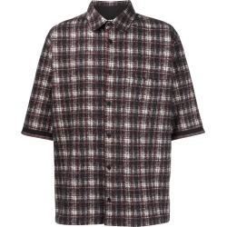 Aganovich plaid shirt - Black found on MODAPINS from FarFetch.com- UK for USD $507.34