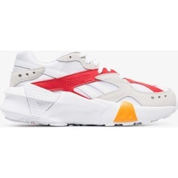 Reebok white Aztrek chunky low top leather sneakers found on Bargain Bro UK from Browns Fashion for $69.25