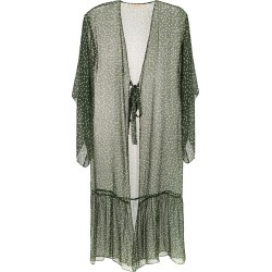 Adriana Degreas Babados robe - Green found on MODAPINS from FarFetch.com- UK for USD $1963.23