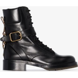 Chloé Womens Black Diane Leather Ankle Boots found on Bargain Bro UK from Browns Fashion
