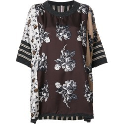 Antonio Marras contrast pattern top - Brown found on MODAPINS from FARFETCH.COM Australia for USD $647.88