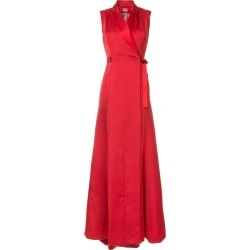 Alexis Mabille waist-tied maxi dress - Red found on MODAPINS from FarFetch.com - US for USD $5004.00
