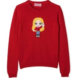 Chiara Ferragni Chiara Ferragni Kids Maglione Rosso Bambina found on MODAPINS from italist.com us for USD $202.66