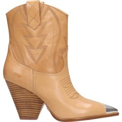 Lola Cruz Texan Ankle Boots In Leather Color Leather found on Bargain Bro UK from Italist