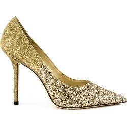 Jimmy Choo Gold Glitter Love Pump found on Bargain Bro UK from Italist