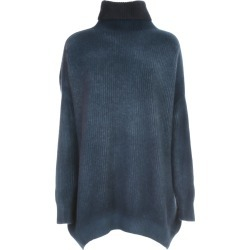 Avant Toi Oversized High Neck Bicolor Sweater found on MODAPINS from Italist for USD $825.66