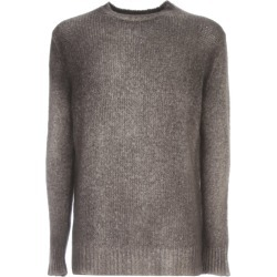 Avant Toi Round Neck Brushed Bio Cotton Blend Pullover found on MODAPINS from italist.com us for USD $498.93