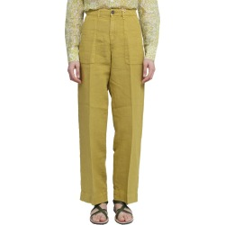 Massimo Alba Mustard Sarago Trousers found on MODAPINS from italist.com us for USD $275.26