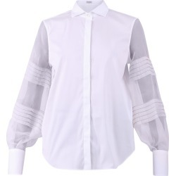Brunello Cucinelli Cotton And Silk Shirt found on Bargain Bro UK from Italist