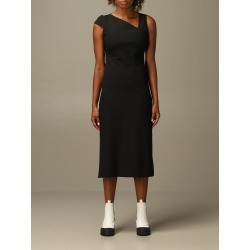 Just Cavalli Dress Just Cavalli Midi And Asymmetrical Dress found on MODAPINS from Italist for USD $657.73